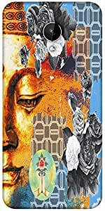 Snoogg Buddha The Future Designer Protective Back Case Cover For Micromax Canvas Spark Q380