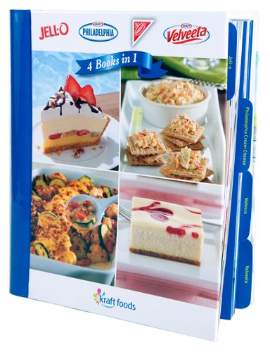 Kraft Foods 4 Cookbooks in 1 (Kraft Recipes compare prices)