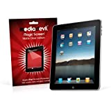 MediaDevil Magic Screen protector: Matte Clear (anti-glare) edition - For Apple iPad 1st Generation (2 x screen protectors)