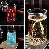 FDDealz - Shark Attack Beer Cup, Creative Glass Beer Mug