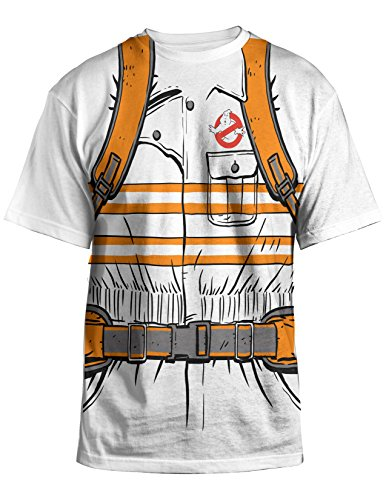 Officially Licensed Ghostbusters Movie Costume T-shirt  - S to XXL