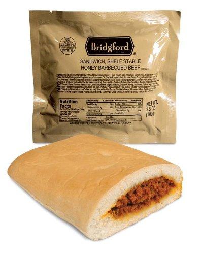 Bridgford Stay Fresh Sandwiches - BBQ Beef - Each