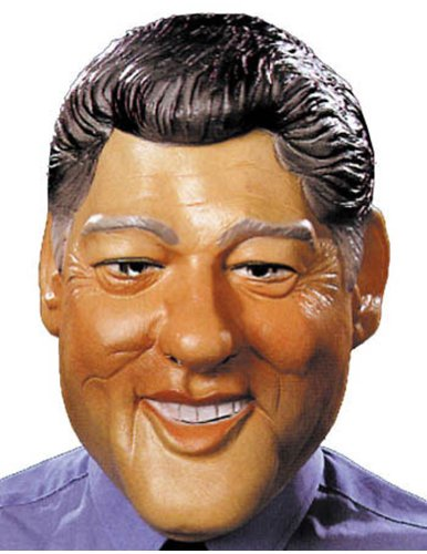 Scary-Masks Clinton Mask Halloween Costume - Most Adults