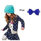 Amlaiworld Baby Mädchen Kinder Herbst Kleidung Langarm Rehe an der Kleid