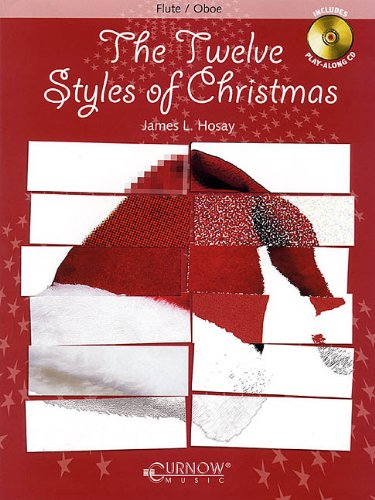 The Twelve 12 Styles of Christmas Flute/Oboe BK/CD Grades 3-4