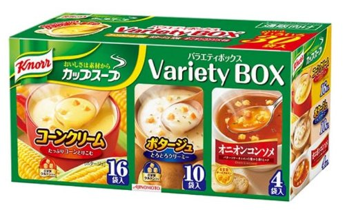 Knorr cup soup variety box 30 bag
