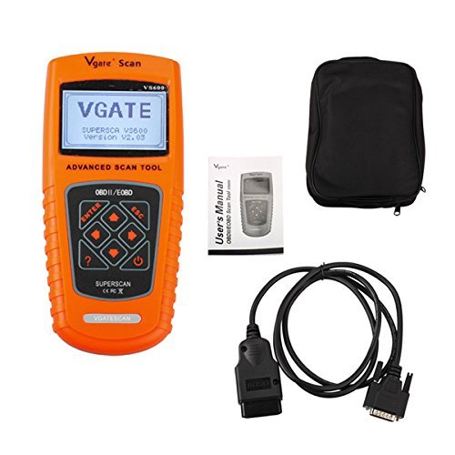 VS600 Vgate Scan Tool Advanced OBDII EOBD Scanner Live Data Fault Code Reader (Tpms Reset Tool Gm compare prices)