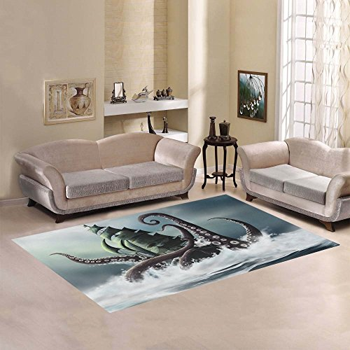 51HywjF6O%2BL Best Octopus Area Rugs