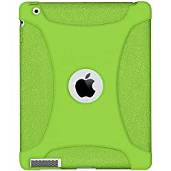 Amzer Silicone Skin Jelly Case for Apple iPad 2 - Green Color