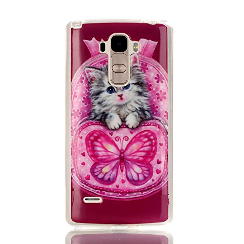 Click to buy LG G Stylo / LS 770 Case,X-Master® [shock absorbent] TPU Bumper [Scratch Resistant] [Soft Touch] Back Cover [Slim Fit] Hybrid Case (cute cat) - From only $69.99