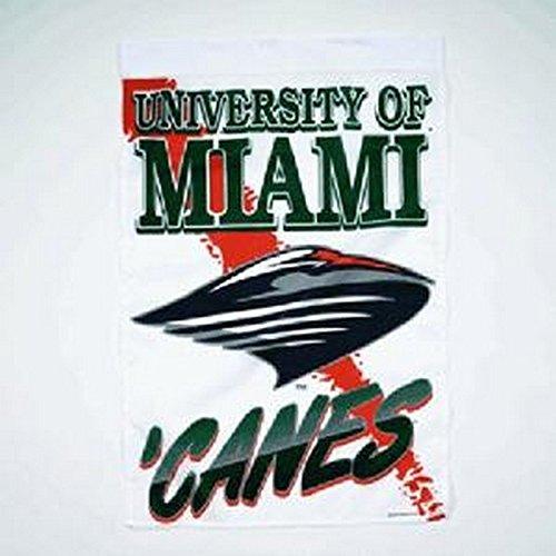 "NCAA University of Miami (Florida) Vertical Flag, 27"" x 37"""