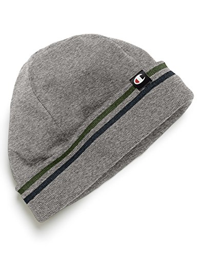 Champion Men`s Watch Cap with Stripe Knit Cuff, P127, One Size (Mens Champion Watches compare prices)