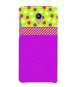 Dotted Green Blue Girl 3D Hard Polycarbonate Designer Back Case Cover for Meizu M2