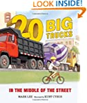 Twenty Big Trucks in the Middle of th...