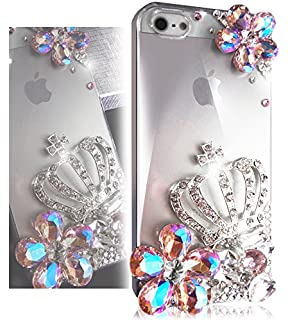 Amazon.com: Bling IPhone 5s Case, Bling IPhone 5 Case, TEAM LUXURY ...