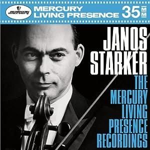 János Starker - The Mercury Recordings (Decca box set)