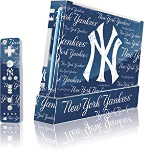 MLB - New York Yankees - New York Yankees - Cap Logo Blast - Wii (Includes 1... by Skinit