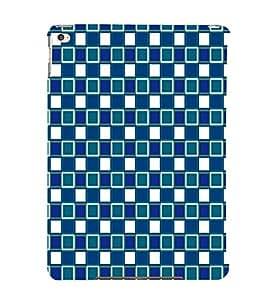 EPICCASE knitted blocks Mobile Back Case Cover For Apple Ipad Air (Designer Case)