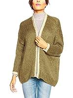SO Cachemire & Knitwear Chaqueta Punto Evy (Caqui)