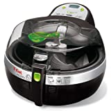 T-fal FZ700251 ActiFry Low-Fat Healthy Dishwasher Safe Multi-Cooker with Nonstick Interior, Black