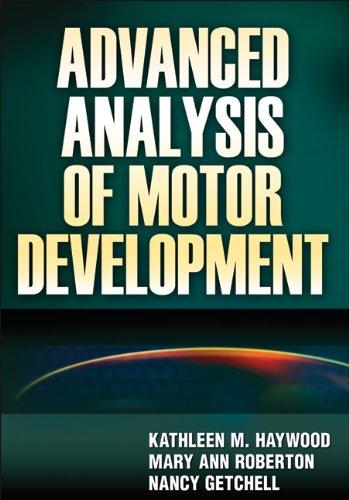 Advanced Analysis Of Motor Development front-71806