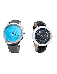 Foster's Men's Blue Dial & Foster's Women's Grey Dial Analog Watch Combo_ADCOMB0002406