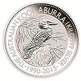 2015年 オーストラリア クッカバラ(カワセミ) 銀貨 1オンス クリアーケース付き