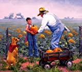 Grandpa's Pumpkins - 300pc Jigsaw Puzzle...
