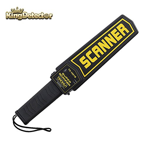 KingDetector Secure Scan Handheld Metal Detector Wand Security Scanner TX-1001B