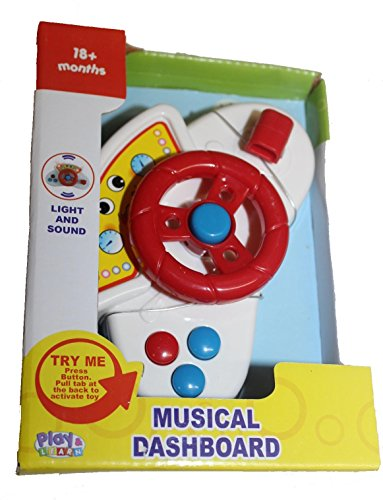 Musical Dashboard Various Color Steering Wheel