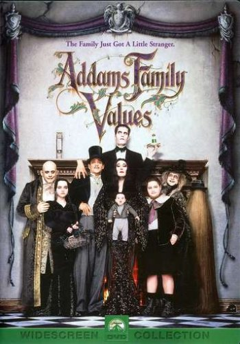 Cover art for  Addams Family Values