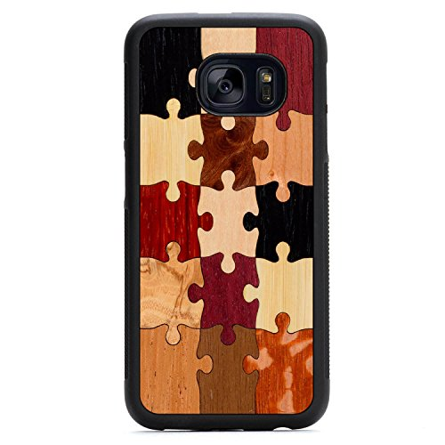 carved-random-puzzle-samsung-galaxy-s7-traveler-wood-case-black-protective-bumper-with-real-all-wood
