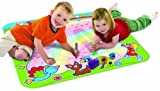 TOMY Aquadoodle 8 Designs - Rainbow, Animal Sounds, Winnie The Pooh, Peppa Pig Mini Mats, Chuggington, Disney Princess, Cars Collection 2, Twin Pack Aquadoodle Pens (Rainbow Aquadoodle)