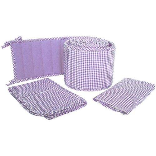 Tadpoles Classic 3-Piece Cradle Set, Lavender