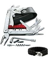Victorinox Swiss Army Swisstool CS Plus Multi Tool - 53946 w/ Victorinox Paracord Bracelet