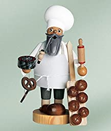 KWO Bread Baker German Christmas Incense Smoker Handcrafted in Germany New
