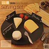 Slate Lazy Susan Serving Set