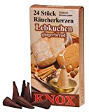 Incense cones - Ginder Bread - Authentic German Erzgebirge Smokers - Knox