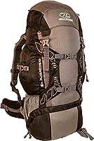Highland Discover Adventure Travel Rucksack Back Pack Backpack + Cover 45L 65L 85L Black , Blue Teal, Red