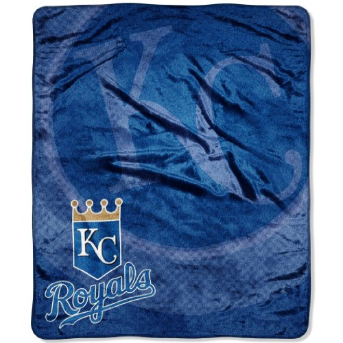 MLB Kansas City Royals Raschel Plush Throw Blanket, Retro Design at Amazon.com