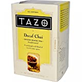 Tazo Black Decaffeinated Chai Tea 20 Bags