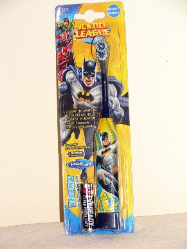 Justice League Turbo Power Battery Powered Toothbrush Soft