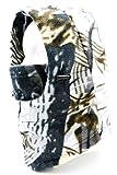 防寒 フリース フェイスマスク 3way カモフラ 迷彩 柄 リアルツリー デザイン / スキー スノボ アウトドア バイク 自転車 釣り 登山 タクティカル ミリタリー コンバット 衝撃吸収 ネック ウォーマー BMX ツーリング ヘルメット インナー フード 【 12色から選べます 】 ホワイトオーク