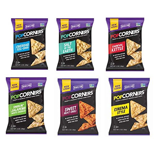 PopCorners 6 Flavor Variety Pack 1.1 Oz Bags (40 Pack) (Kettle Popcorners compare prices)