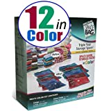 Space Bag 12 Storage Combo Packs in Color ~ Space Bag