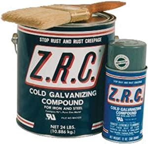 ZRC Cold Galvanizing Compound 1 Gallon Can... 95% ZINC (Z.R.C.)