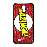US CBS Television Sitcom The Bazinga Big Bang Theory Top Protective Hard Plastic Cover Case for Samsung Galaxy S4 I9500 from Good luck to