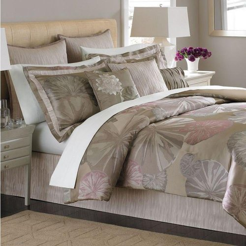 Martha Stewart Echo Pond 9 Piece Queen Comforter Bed In A Bag...