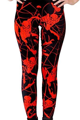 Women Spider Man Leggings