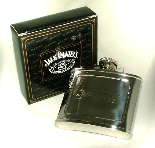 Jack Daniel's Old Fashioned 6oz Hip Flask